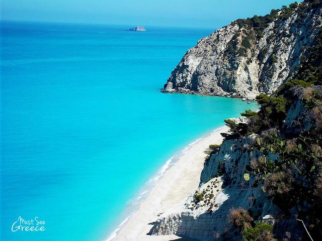 plaża Egremni Lefkada