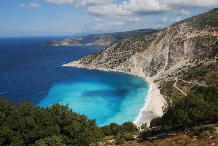 plaża Myrthos Kefalonia