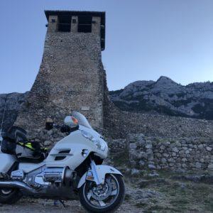 ALBANIA-KRUJA-WIEZA-GOLDWING