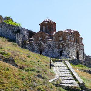 ALBANIA-BERAT-KOSCIÓŁ